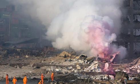 Chuyên gia cho rằng nổ lớn ở Trung Quốc có thể một phần do lính cứu hoả