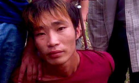 Người đàn ông theo dõi, phát hiện nghi can gây thảm án ở Yên Bái
