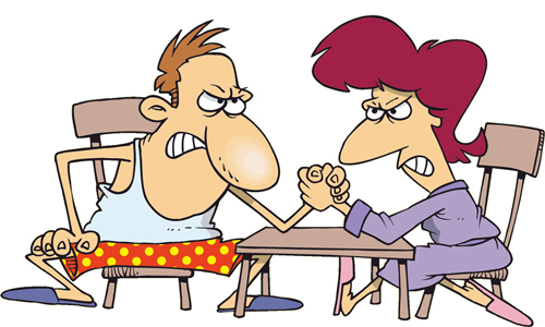 cartoon-couple-arm-wrestling-7540-143980