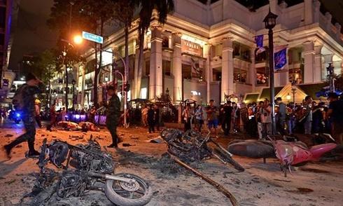 Bom nổ ở trung tâm Bangkok nhằm mục đích gì