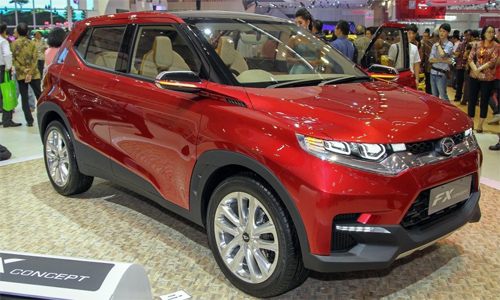 Daihatsu FX Concept - đối thủ của Honda HR-V.