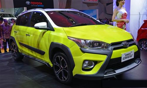 Toyota Yaris phien ban moi hien dai tai Toyota Giai Phong