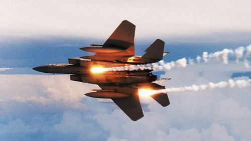 Một chiến đấu cơ F-15C của quân đội Mỹ. Ảnh: USAF