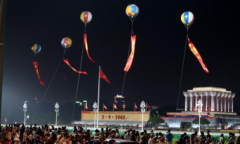 Hà Nội trước giờ cấm đường phục vụ diễu binh