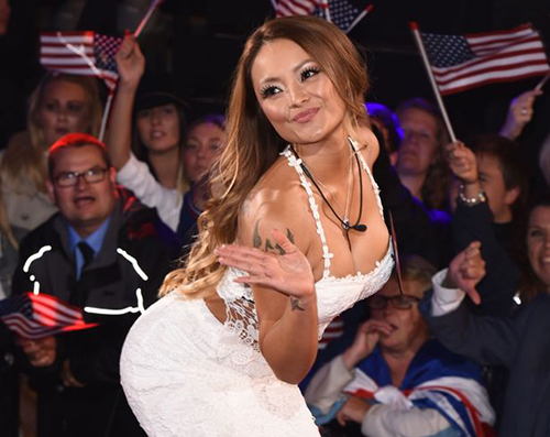 "Tila Tequila tại show ""Celebrity Big Brother"". Ảnh: mirror"