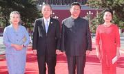Đệ nhất phu nhân Trung Quốc nổi bật trong lễ duyệt binh
