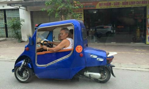 Những 'siêu xe' tự chế gây sửng sốt của người Việt