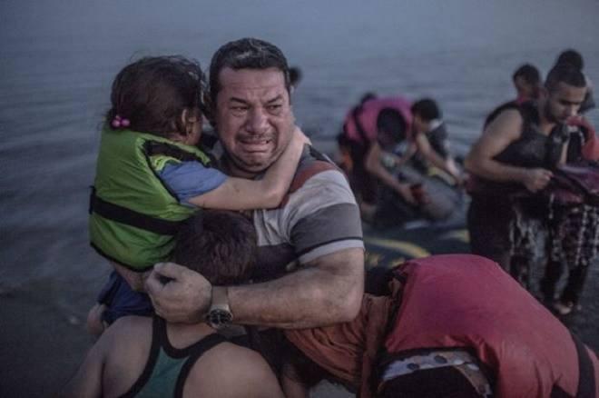 Những bức ảnh lay động về khủng hoảng di cư ở châu Âu
