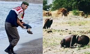 6 bức ảnh trẻ em chạm đến trái tim cả thế giới