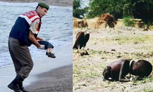 Những bức ảnh trẻ em chạm đến trái tim cả thế giới