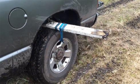Cách đơn giản chống lún ôtô