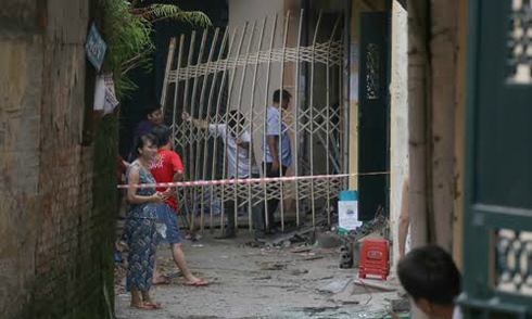 Nghi án gây nổ làm một người chết ở Hà Nội do thù tức