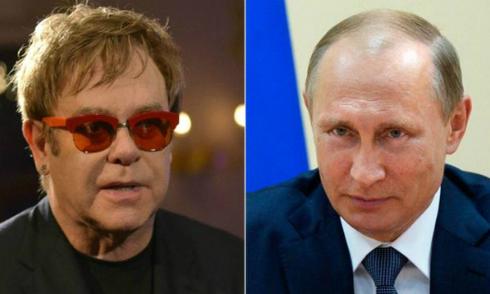 Elton John khoe được Putin gọi điện
