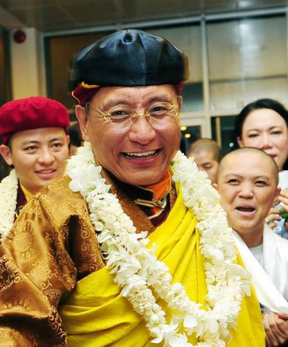 Pháp Vương Drukpa trở lại Việt Nam vào ngày hòa bình thế giới