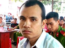 Đào Văn Thắng tại tòa. Ảnh: Xuân Thắng.