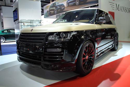 Mansory Range Rover Autobiography LWB tại Frankfurt Motor Show 2015. >>Thêm ảnh.