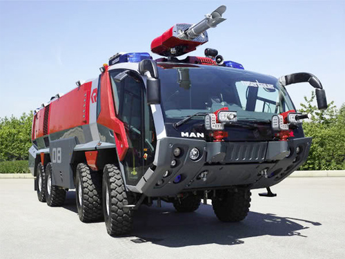 Rosenbauer Panther - xe cứu hỏa triệu đô ở sân bay 1