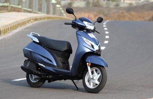 Honda Activa - scooter bán một triệu xe trong 5 tháng 1