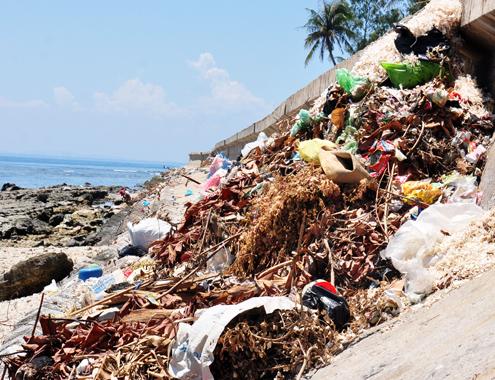 Có nhà máy xử lý 30 tỷ đồng, rác vẫn ngập biển Lý Sơn 2