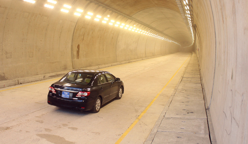 Thông xe hầm Cổ Mã qua đèo Cả 2