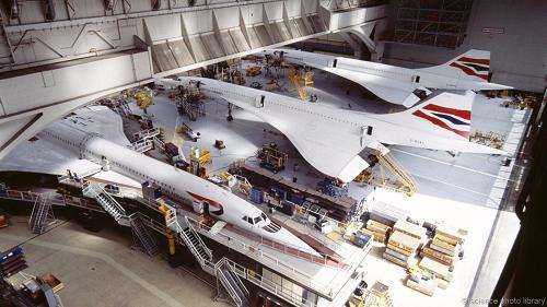 Giấc mơ hồi sinh phi cơ huyền thoại Concorde 2