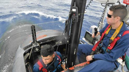 Tàu ngầm Mỹ diễn tập theo dấu tàu ngầm Trung Quốc 2
