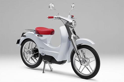 Honda EV-Cub Concept - phong cách