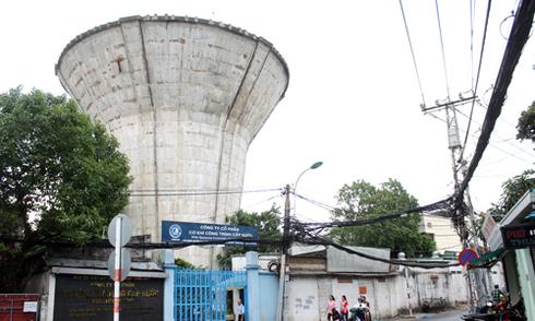 8 thủy đài khổng lồ bỏ hoang hơn 40 năm ở Sài Gòn