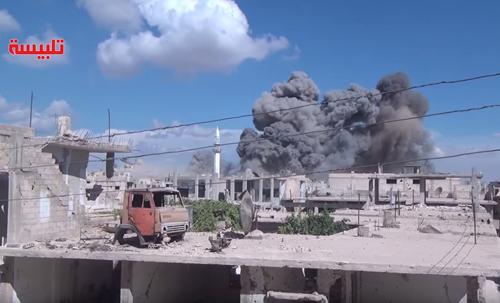 Không kích ở Syria, Nga thay đổi cuộc chiến chống IS 1