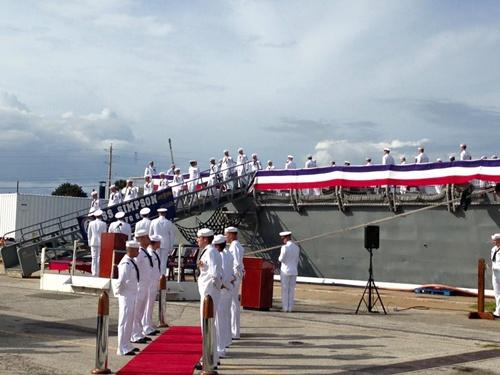 USS Simpson - chiến hạm từng đánh chìm tàu tên lửa Iran 3