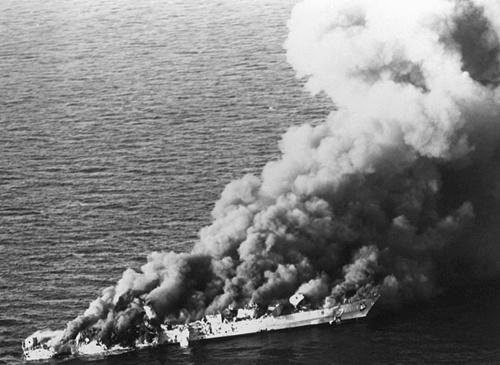 USS Simpson - chiến hạm từng đánh chìm tàu tên lửa Iran 2