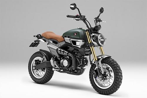 Honda Grom50 Scrambler Concept Two.