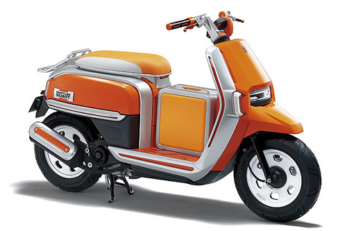 Suzuki Hustler Scoot Concept - xe ga đa dụng.