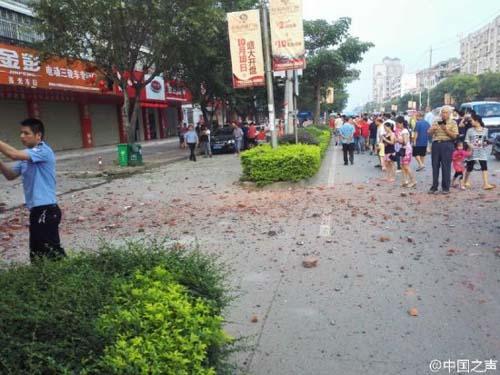 Lại thêm 1 vụ nổ mới ở Trung Quốc