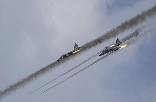 Su-25, cường kích chủ lực diệt IS của Nga 2