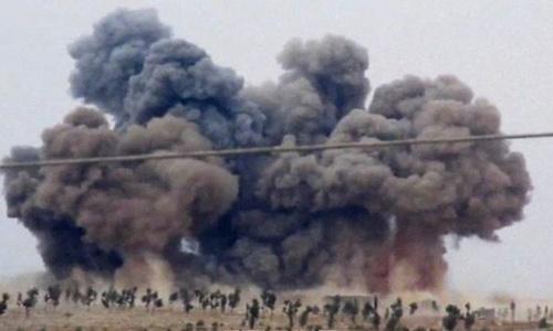 Cùng không kích IS, Nga - Mỹ nguy cơ đụng độ ở Syria 1