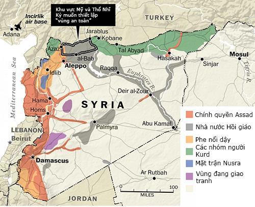 Những nước nào đang can thiệp vào Syria 1