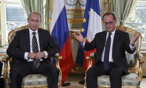 Putin lần đầu thảo luận với lãnh đạo phương Tây sau không kích Syria