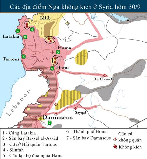 Cùng không kích IS, Nga - Mỹ nguy cơ đụng độ ở Syria 2
