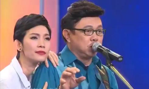 Chí Tài trổ tài đàn hát tán tỉnh siêu mẫu Xuân Lan