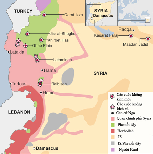 Phe đối lập Syria muốn Mỹ cấp tên lửa đối phó cường kích Nga 2