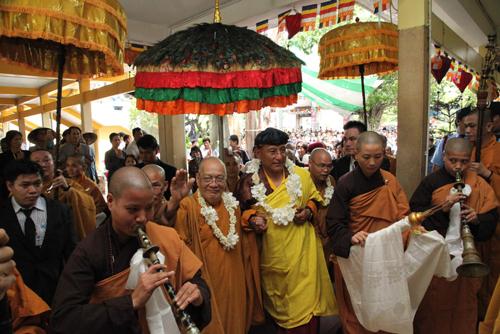 Đức Pháp Vương Drukpa đến TP HCM 2