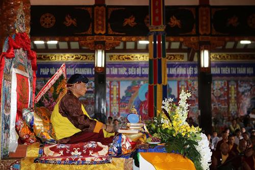 Đức Pháp Vương Drukpa đến TP HCM 7