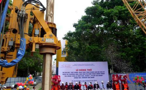 Hơn 1.000 tỷ đồng xây bãi đậu xe ngầm ở công viên Tao Đàn 1