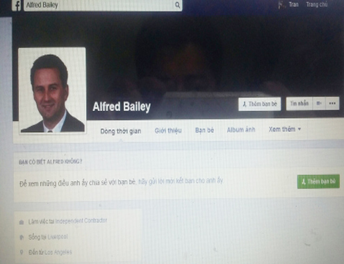 Nhiều cô gái sập bẫy 'doanh nhân' nước ngoài trên Facebook