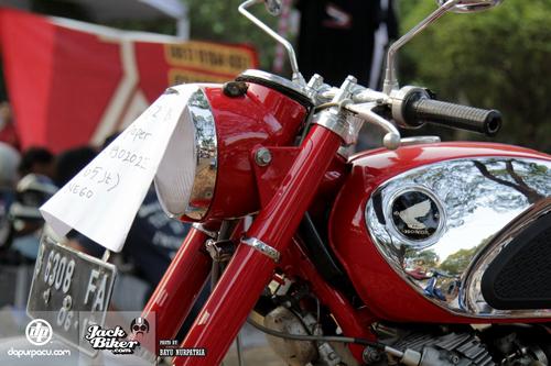 Honda CB72 - xế cổ hàng hiếm ở Indonesia giá 11.000 USD 2