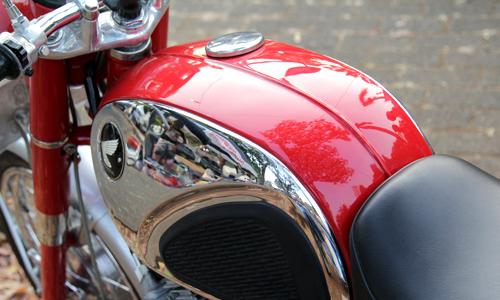 Honda CB72 - xế cổ hàng hiếm ở Indonesia giá 11.000 USD 5