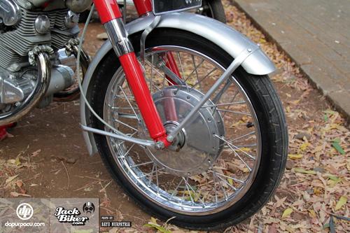 Honda CB72 - xế cổ hàng hiếm ở Indonesia giá 11.000 USD 7