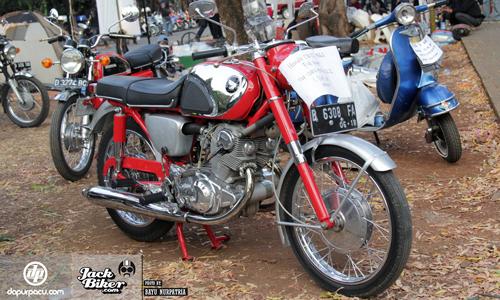 Honda CB72 - xế cổ hàng hiếm ở Indonesia giá 11.000 USD 1