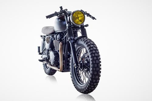 Triumph Bonneville T100 - bản độ David Beckham 3